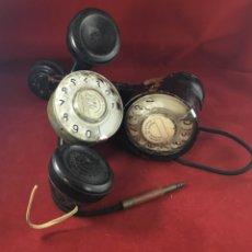 Teléfonos: ANTIGUO LOTE DE DOS TELEFONOS DE PRUEBAS DE LOS TÉCNICOS DE LA CTNE, ACTUAL TELEFÓNICA . Lote 180152390