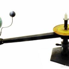 Antigüedades: 1930CA TELURIO LUNARIO (PLANETARIO) ALEMÁN CON GLOBO DE COLUMBUS. Lote 180157533