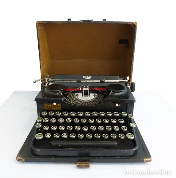 MÁQUINA DE ESCRIBIR PORTÁTIL ROYAL P (Antigüedades - Técnicas - Máquinas de Escribir Antiguas - Royal)