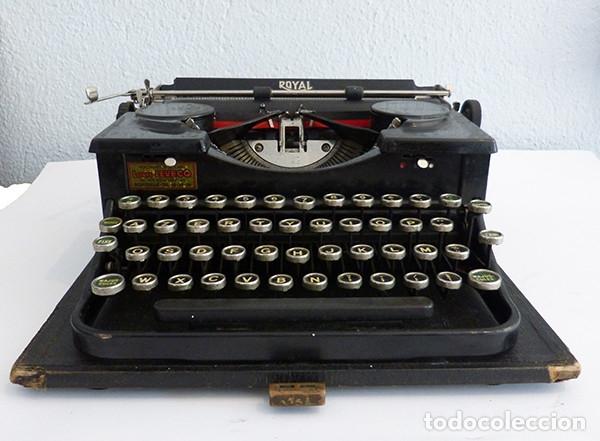 Antigüedades: Máquina de escribir portátil Royal P - Foto 2 - 180163925
