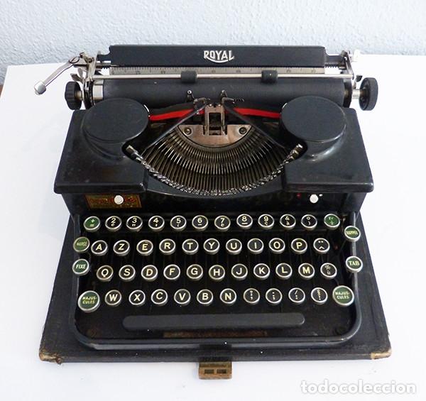 Antigüedades: Máquina de escribir portátil Royal P - Foto 3 - 180163925