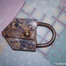 Antigüedades: 2 CANDADO ANTIGUOS. Lote 180171497