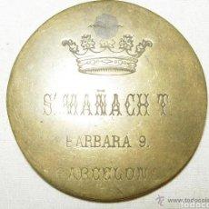 Antigüedades: MIRILLA PRINCIPIO SIGLO XX BRONCE BUEN ESTADO. Lote 180173952