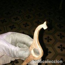 Antigüedades: ANTIGUA LLAVE DE BRONCE HERRAMIENTA DE BICICLETA . SYO, S16 O OLS.... Lote 180192487