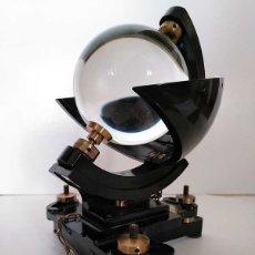 Antigüedades: HELIOGRAFO CAMPBELL STOKES SUNSHINE RECORDER NEGRETTI & ZAMBRA LONDON GRABADOR DE LUZ SOLAR HELIOGRA. Lote 180193120