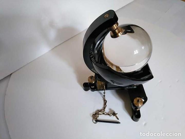 Antigüedades: HELIOGRAFO CAMPBELL STOKES SUNSHINE RECORDER NEGRETTI & ZAMBRA LONDON GRABADOR DE LUZ SOLAR HELIOGRA - Foto 8 - 180193120
