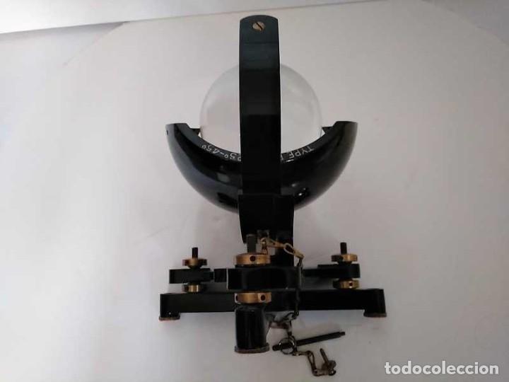 Antigüedades: HELIOGRAFO CAMPBELL STOKES SUNSHINE RECORDER NEGRETTI & ZAMBRA LONDON GRABADOR DE LUZ SOLAR HELIOGRA - Foto 19 - 180193120