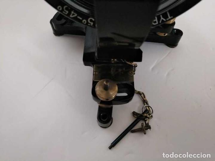 Antigüedades: HELIOGRAFO CAMPBELL STOKES SUNSHINE RECORDER NEGRETTI & ZAMBRA LONDON GRABADOR DE LUZ SOLAR HELIOGRA - Foto 21 - 180193120