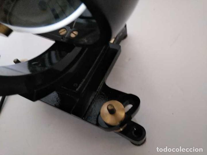 Antigüedades: HELIOGRAFO CAMPBELL STOKES SUNSHINE RECORDER NEGRETTI & ZAMBRA LONDON GRABADOR DE LUZ SOLAR HELIOGRA - Foto 22 - 180193120