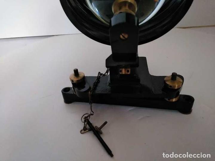 Antigüedades: HELIOGRAFO CAMPBELL STOKES SUNSHINE RECORDER NEGRETTI & ZAMBRA LONDON GRABADOR DE LUZ SOLAR HELIOGRA - Foto 23 - 180193120