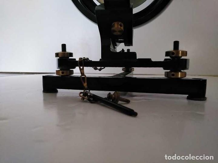 Antigüedades: HELIOGRAFO CAMPBELL STOKES SUNSHINE RECORDER NEGRETTI & ZAMBRA LONDON GRABADOR DE LUZ SOLAR HELIOGRA - Foto 24 - 180193120