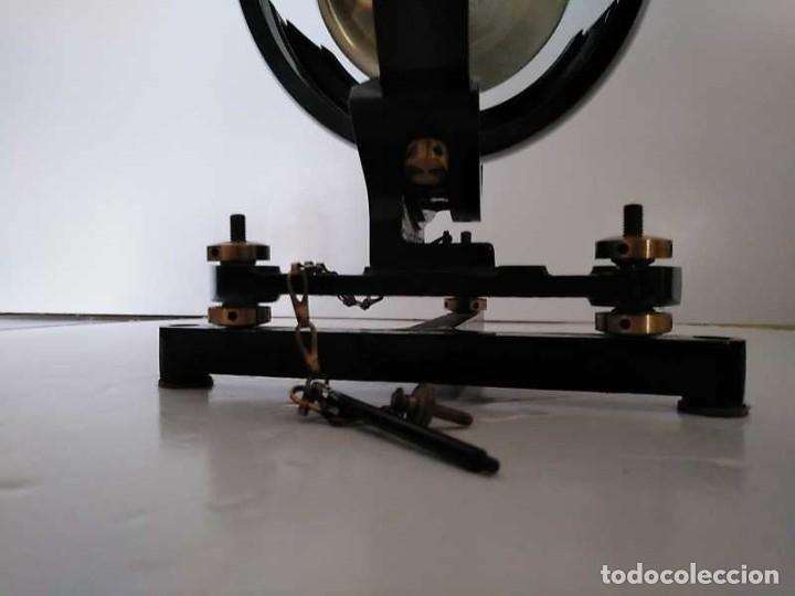 Antigüedades: HELIOGRAFO CAMPBELL STOKES SUNSHINE RECORDER NEGRETTI & ZAMBRA LONDON GRABADOR DE LUZ SOLAR HELIOGRA - Foto 25 - 180193120