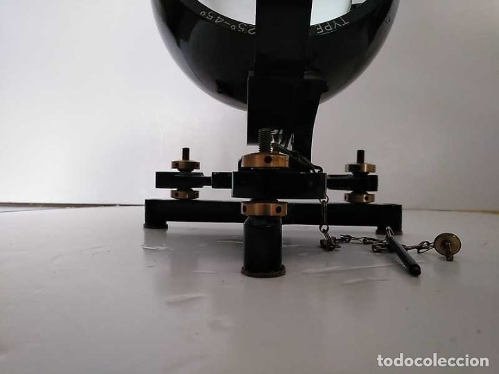 Antigüedades: HELIOGRAFO CAMPBELL STOKES SUNSHINE RECORDER NEGRETTI & ZAMBRA LONDON GRABADOR DE LUZ SOLAR HELIOGRA - Foto 27 - 180193120