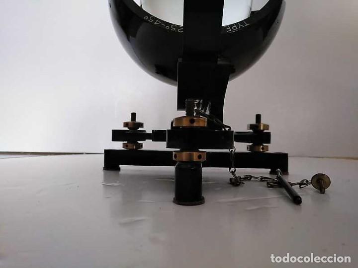 Antigüedades: HELIOGRAFO CAMPBELL STOKES SUNSHINE RECORDER NEGRETTI & ZAMBRA LONDON GRABADOR DE LUZ SOLAR HELIOGRA - Foto 28 - 180193120