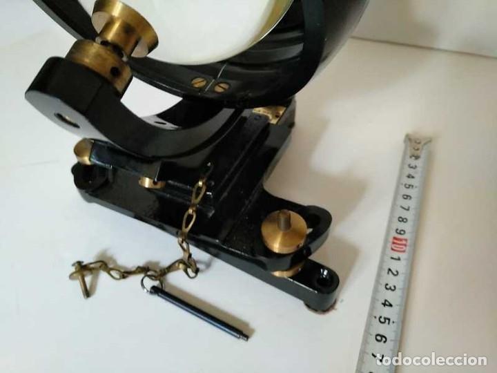 Antigüedades: HELIOGRAFO CAMPBELL STOKES SUNSHINE RECORDER NEGRETTI & ZAMBRA LONDON GRABADOR DE LUZ SOLAR HELIOGRA - Foto 31 - 180193120