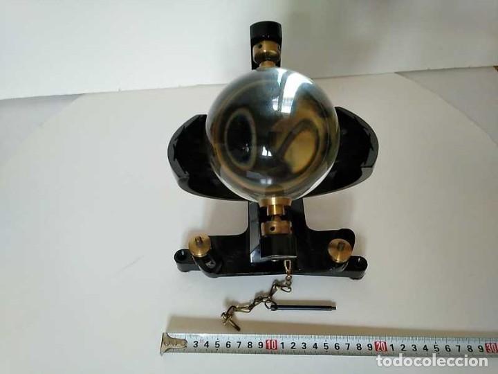 Antigüedades: HELIOGRAFO CAMPBELL STOKES SUNSHINE RECORDER NEGRETTI & ZAMBRA LONDON GRABADOR DE LUZ SOLAR HELIOGRA - Foto 36 - 180193120