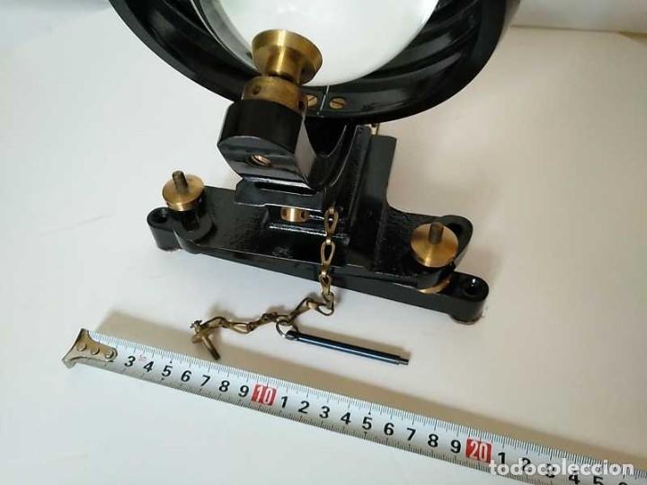 Antigüedades: HELIOGRAFO CAMPBELL STOKES SUNSHINE RECORDER NEGRETTI & ZAMBRA LONDON GRABADOR DE LUZ SOLAR HELIOGRA - Foto 37 - 180193120
