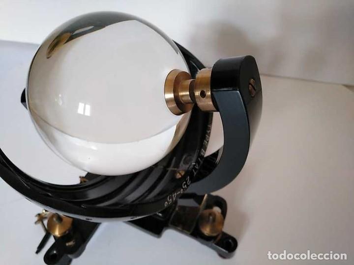Antigüedades: HELIOGRAFO CAMPBELL STOKES SUNSHINE RECORDER NEGRETTI & ZAMBRA LONDON GRABADOR DE LUZ SOLAR HELIOGRA - Foto 42 - 180193120