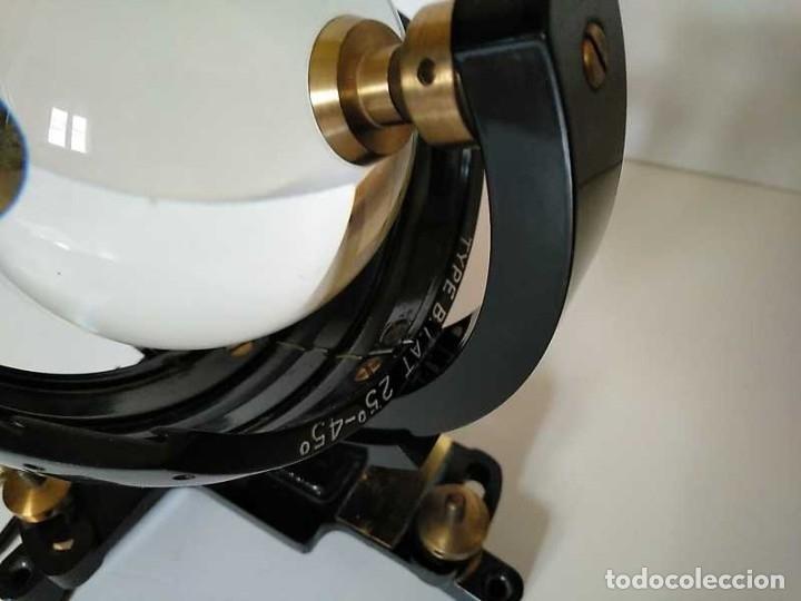 Antigüedades: HELIOGRAFO CAMPBELL STOKES SUNSHINE RECORDER NEGRETTI & ZAMBRA LONDON GRABADOR DE LUZ SOLAR HELIOGRA - Foto 43 - 180193120
