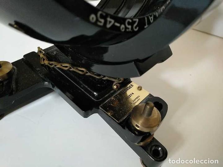Antigüedades: HELIOGRAFO CAMPBELL STOKES SUNSHINE RECORDER NEGRETTI & ZAMBRA LONDON GRABADOR DE LUZ SOLAR HELIOGRA - Foto 44 - 180193120