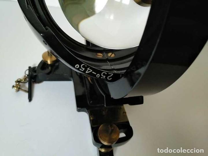 Antigüedades: HELIOGRAFO CAMPBELL STOKES SUNSHINE RECORDER NEGRETTI & ZAMBRA LONDON GRABADOR DE LUZ SOLAR HELIOGRA - Foto 45 - 180193120