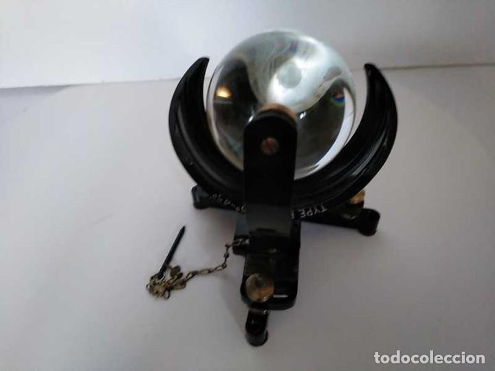 Antigüedades: HELIOGRAFO CAMPBELL STOKES SUNSHINE RECORDER NEGRETTI & ZAMBRA LONDON GRABADOR DE LUZ SOLAR HELIOGRA - Foto 63 - 180193120