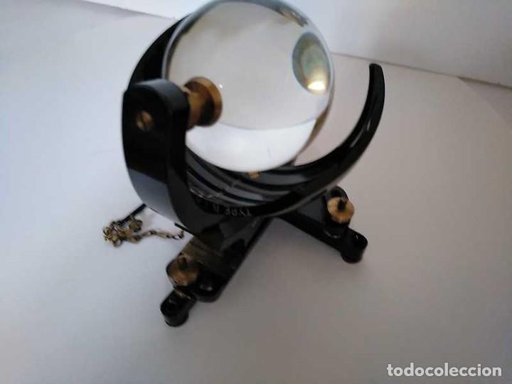 Antigüedades: HELIOGRAFO CAMPBELL STOKES SUNSHINE RECORDER NEGRETTI & ZAMBRA LONDON GRABADOR DE LUZ SOLAR HELIOGRA - Foto 64 - 180193120