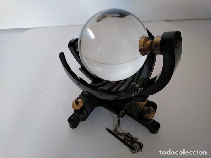 Antigüedades: HELIOGRAFO CAMPBELL STOKES SUNSHINE RECORDER NEGRETTI & ZAMBRA LONDON GRABADOR DE LUZ SOLAR HELIOGRA - Foto 66 - 180193120