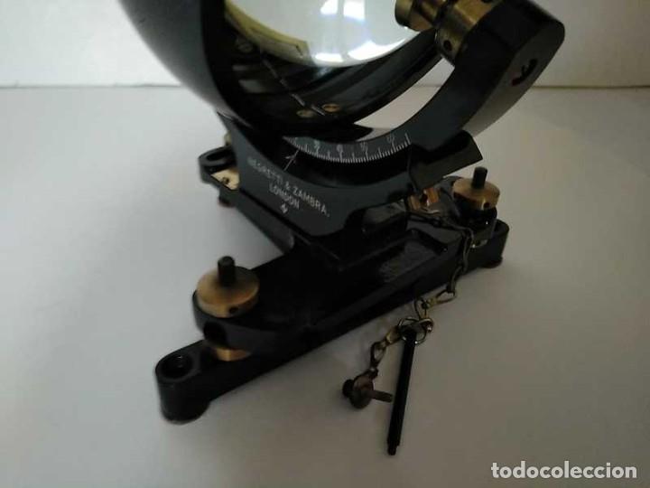 Antigüedades: HELIOGRAFO CAMPBELL STOKES SUNSHINE RECORDER NEGRETTI & ZAMBRA LONDON GRABADOR DE LUZ SOLAR HELIOGRA - Foto 73 - 180193120