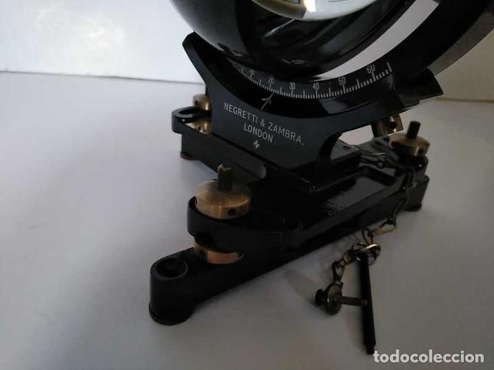 Antigüedades: HELIOGRAFO CAMPBELL STOKES SUNSHINE RECORDER NEGRETTI & ZAMBRA LONDON GRABADOR DE LUZ SOLAR HELIOGRA - Foto 74 - 180193120