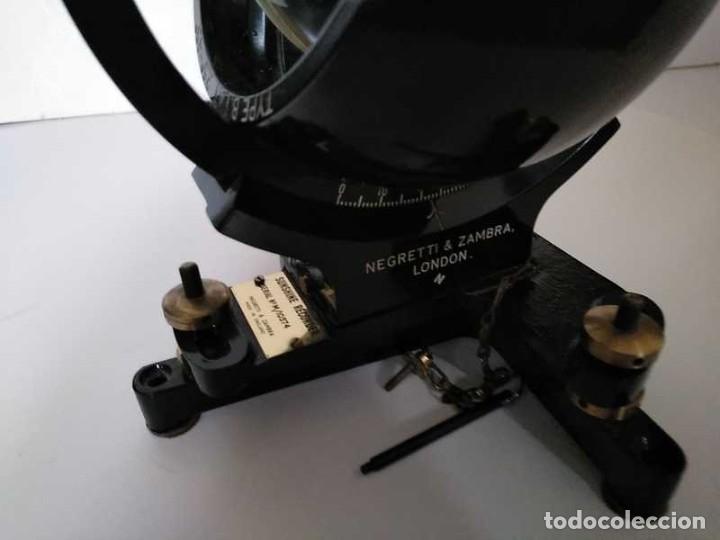 Antigüedades: HELIOGRAFO CAMPBELL STOKES SUNSHINE RECORDER NEGRETTI & ZAMBRA LONDON GRABADOR DE LUZ SOLAR HELIOGRA - Foto 76 - 180193120