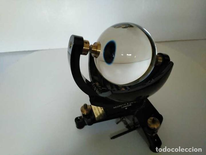 Antigüedades: HELIOGRAFO CAMPBELL STOKES SUNSHINE RECORDER NEGRETTI & ZAMBRA LONDON GRABADOR DE LUZ SOLAR HELIOGRA - Foto 77 - 180193120