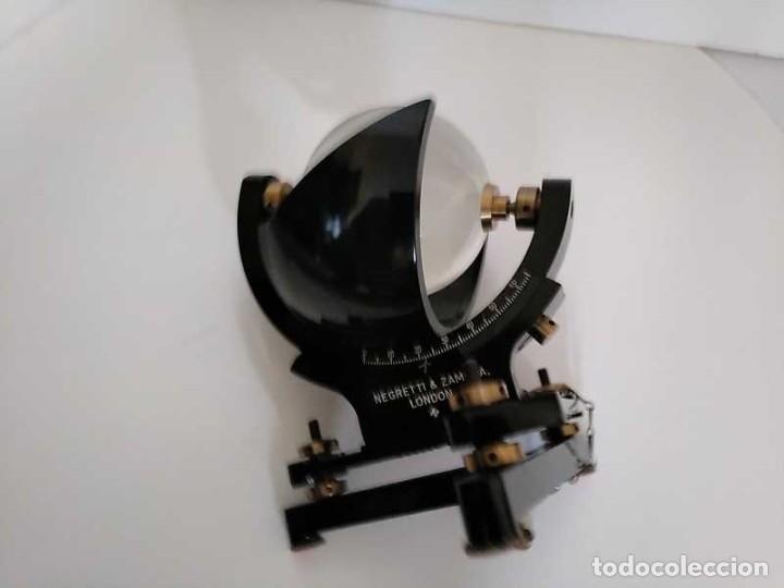Antigüedades: HELIOGRAFO CAMPBELL STOKES SUNSHINE RECORDER NEGRETTI & ZAMBRA LONDON GRABADOR DE LUZ SOLAR HELIOGRA - Foto 81 - 180193120