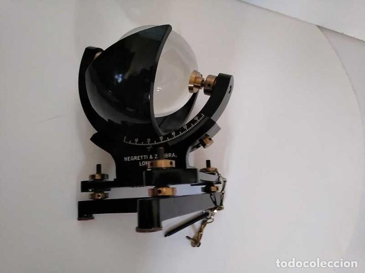 Antigüedades: HELIOGRAFO CAMPBELL STOKES SUNSHINE RECORDER NEGRETTI & ZAMBRA LONDON GRABADOR DE LUZ SOLAR HELIOGRA - Foto 84 - 180193120