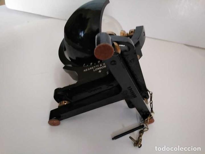 Antigüedades: HELIOGRAFO CAMPBELL STOKES SUNSHINE RECORDER NEGRETTI & ZAMBRA LONDON GRABADOR DE LUZ SOLAR HELIOGRA - Foto 85 - 180193120