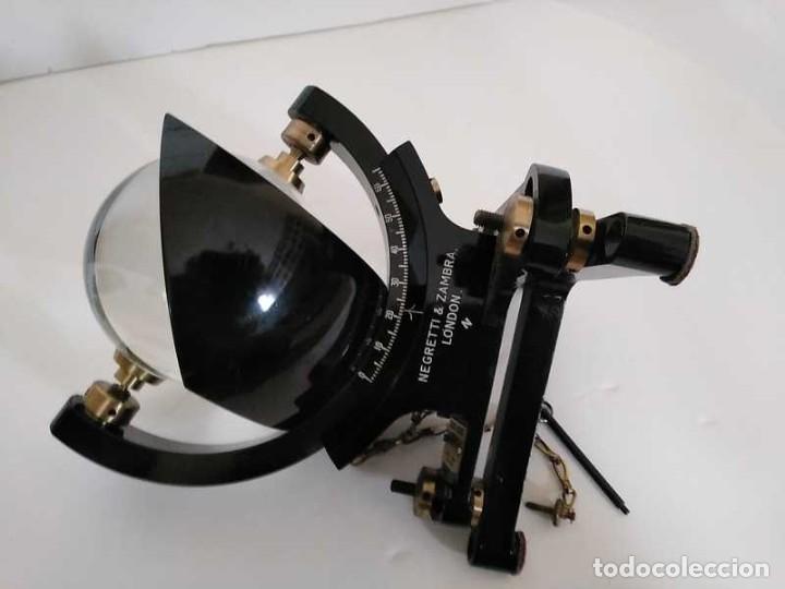 Antigüedades: HELIOGRAFO CAMPBELL STOKES SUNSHINE RECORDER NEGRETTI & ZAMBRA LONDON GRABADOR DE LUZ SOLAR HELIOGRA - Foto 92 - 180193120