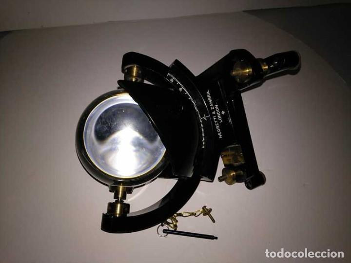 Antigüedades: HELIOGRAFO CAMPBELL STOKES SUNSHINE RECORDER NEGRETTI & ZAMBRA LONDON GRABADOR DE LUZ SOLAR HELIOGRA - Foto 96 - 180193120