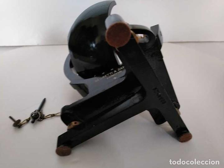 Antigüedades: HELIOGRAFO CAMPBELL STOKES SUNSHINE RECORDER NEGRETTI & ZAMBRA LONDON GRABADOR DE LUZ SOLAR HELIOGRA - Foto 98 - 180193120