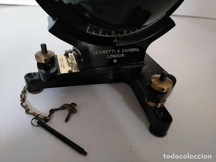 Antigüedades: HELIOGRAFO CAMPBELL STOKES SUNSHINE RECORDER NEGRETTI & ZAMBRA LONDON GRABADOR DE LUZ SOLAR HELIOGRA - Foto 112 - 180193120
