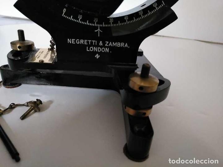 Antigüedades: HELIOGRAFO CAMPBELL STOKES SUNSHINE RECORDER NEGRETTI & ZAMBRA LONDON GRABADOR DE LUZ SOLAR HELIOGRA - Foto 113 - 180193120