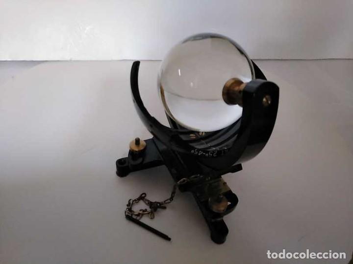Antigüedades: HELIOGRAFO CAMPBELL STOKES SUNSHINE RECORDER NEGRETTI & ZAMBRA LONDON GRABADOR DE LUZ SOLAR HELIOGRA - Foto 116 - 180193120