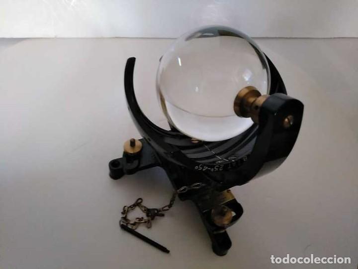 Antigüedades: HELIOGRAFO CAMPBELL STOKES SUNSHINE RECORDER NEGRETTI & ZAMBRA LONDON GRABADOR DE LUZ SOLAR HELIOGRA - Foto 117 - 180193120