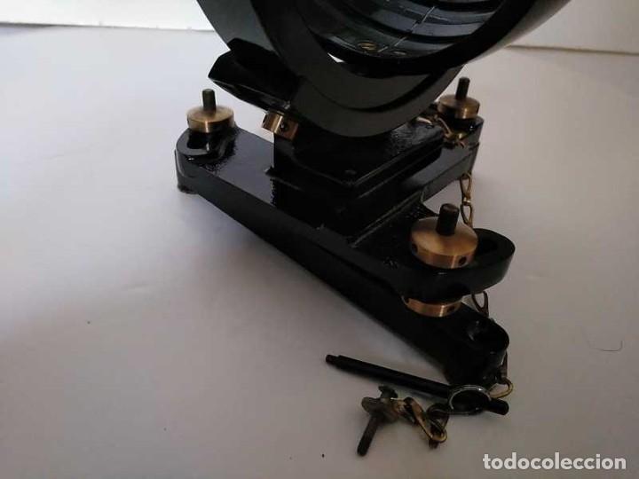 Antigüedades: HELIOGRAFO CAMPBELL STOKES SUNSHINE RECORDER NEGRETTI & ZAMBRA LONDON GRABADOR DE LUZ SOLAR HELIOGRA - Foto 121 - 180193120