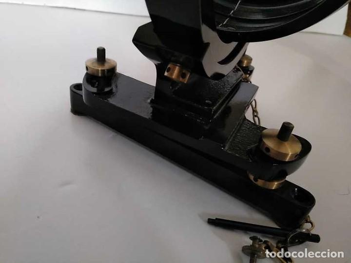 Antigüedades: HELIOGRAFO CAMPBELL STOKES SUNSHINE RECORDER NEGRETTI & ZAMBRA LONDON GRABADOR DE LUZ SOLAR HELIOGRA - Foto 122 - 180193120