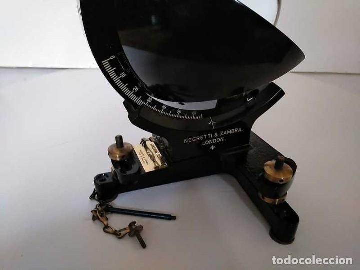 Antigüedades: HELIOGRAFO CAMPBELL STOKES SUNSHINE RECORDER NEGRETTI & ZAMBRA LONDON GRABADOR DE LUZ SOLAR HELIOGRA - Foto 126 - 180193120