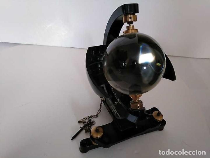 Antigüedades: HELIOGRAFO CAMPBELL STOKES SUNSHINE RECORDER NEGRETTI & ZAMBRA LONDON GRABADOR DE LUZ SOLAR HELIOGRA - Foto 133 - 180193120