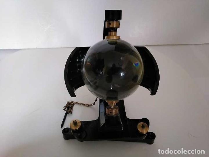 Antigüedades: HELIOGRAFO CAMPBELL STOKES SUNSHINE RECORDER NEGRETTI & ZAMBRA LONDON GRABADOR DE LUZ SOLAR HELIOGRA - Foto 134 - 180193120