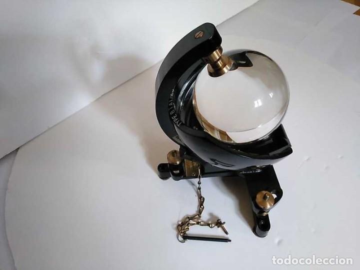 Antigüedades: HELIOGRAFO CAMPBELL STOKES SUNSHINE RECORDER NEGRETTI & ZAMBRA LONDON GRABADOR DE LUZ SOLAR HELIOGRA - Foto 135 - 180193120