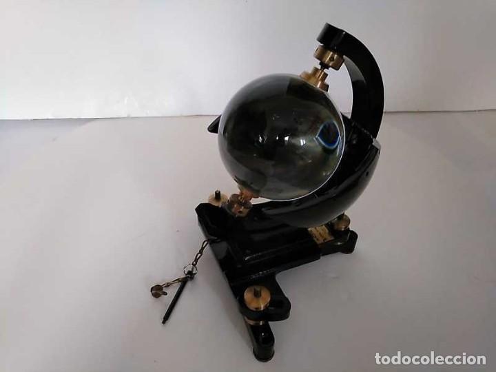 Antigüedades: HELIOGRAFO CAMPBELL STOKES SUNSHINE RECORDER NEGRETTI & ZAMBRA LONDON GRABADOR DE LUZ SOLAR HELIOGRA - Foto 142 - 180193120