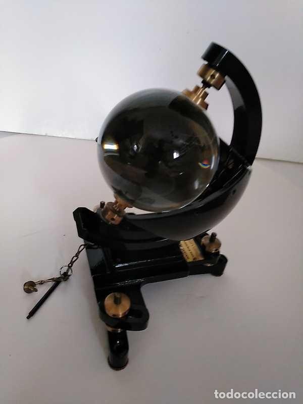 Antigüedades: HELIOGRAFO CAMPBELL STOKES SUNSHINE RECORDER NEGRETTI & ZAMBRA LONDON GRABADOR DE LUZ SOLAR HELIOGRA - Foto 143 - 180193120